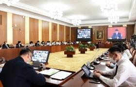 НББХ-ны ажлын хэсгийн гишүүд эрүүл мэндийн салбарынхантай цахим уулзалт хийв