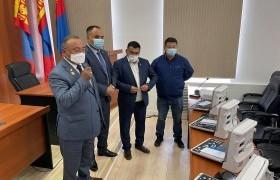 Баян-Өлгий аймгийн зарим сумын ЭМТ сүүлийн үеийн суурин эхо аппараттай боллоо