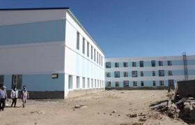 Говьсүмбэр аймгийн шинэ сургууль, цэцэрлэгийн байр ирэх сард ашиглалтанд орно