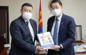 Монгол Улсаас АНУ-д суух Элчин сайдыг хүлээн авч уулзлаа
