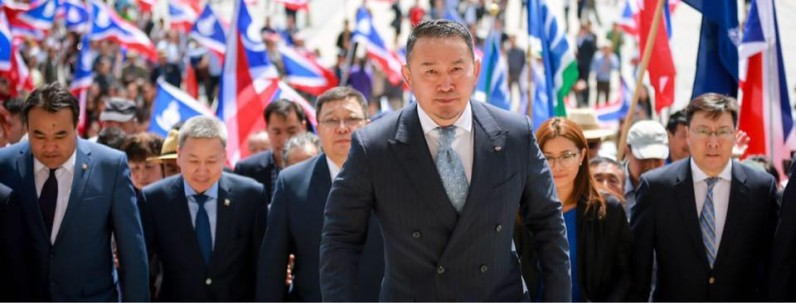 """""""Хүчирхэг Монгол Улс""""-ыг цогцлоох эх оронч Ерөнхийлөгч"""