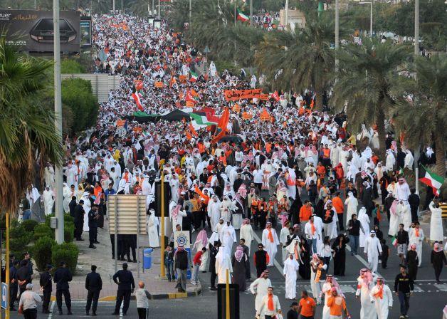 Тайван Кувейтэд тайван бус сонгууль болж байна