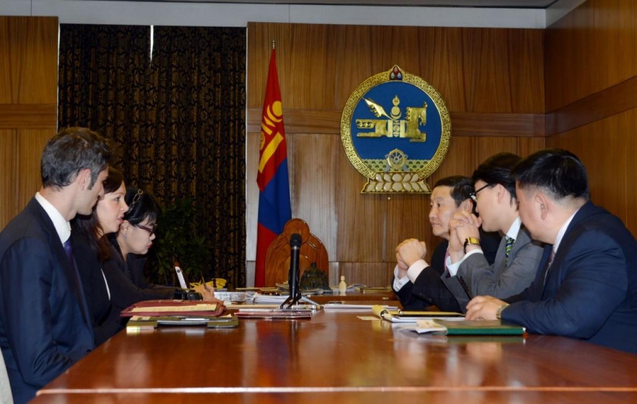 Н.Алтанхуяг: Монгол Улсын бизнес, эдийн засгийн орчин дэлхий дахинд нээлттэй