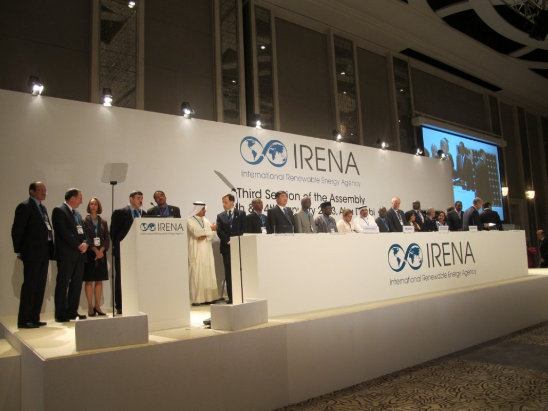 Сайд М.Сономпил Сэргээгдэх эрчим хүчний олон улсын чуулганд оролцож байна