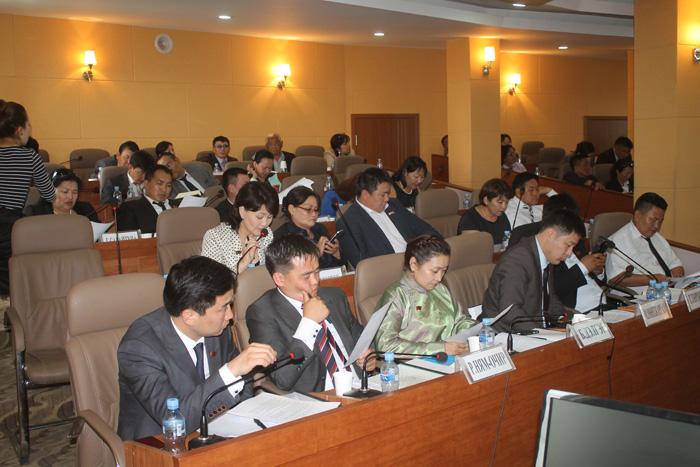 Сонгинохайрхан дүүргийн ИТХ-ын 8 дугаар чуулган хуралдаж байна