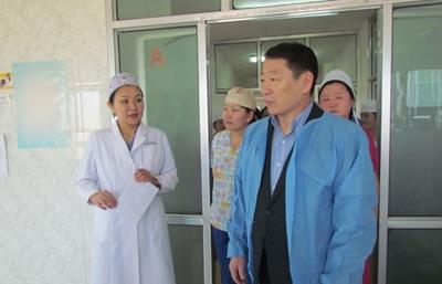 УИХ-ын гишүүн Ж.Батсуурь Говьсүмбэр, Дорноговь аймагт ажиллаа
