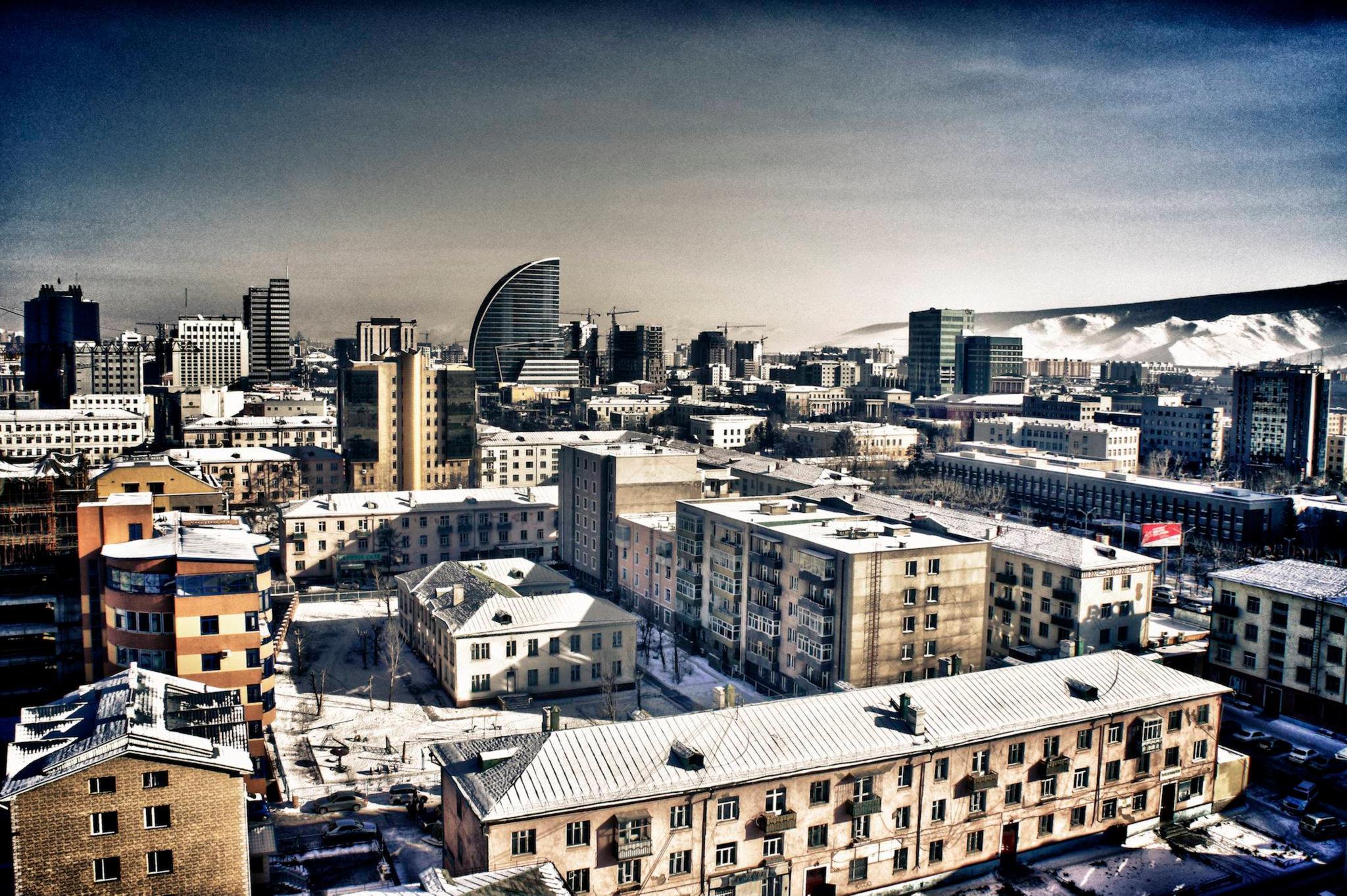 Гудамжгүй Улаанбаатар