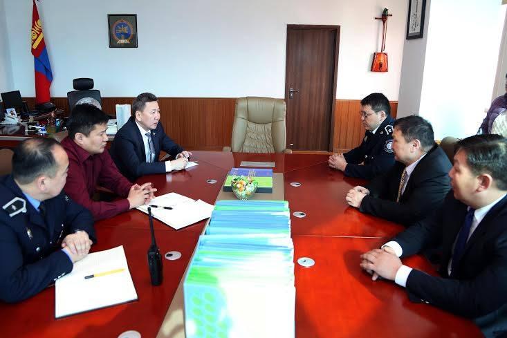 Хан-Уул дүүргийн Цагдаагийн II хэлтсийн үйл ажиллагаатай танилцлаа