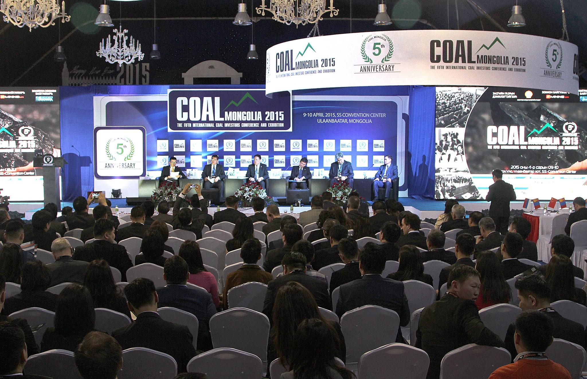 """Эрчим хүчний сайд Д.Зоригтын """"Coal Mongolia 2015""""-д тавьсан илтгэл"""