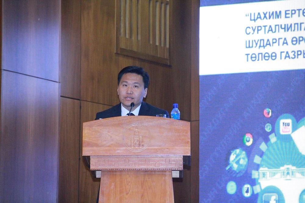 """""""Монголын цахим сэтгүүл зүйн анхдугаар форум""""-д Т.Аюурсайхан илтгэл тавилаа"""