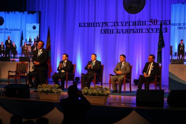 Баянзүрх дүүргийн 50 жилийн ойн баярын хурал боллоо