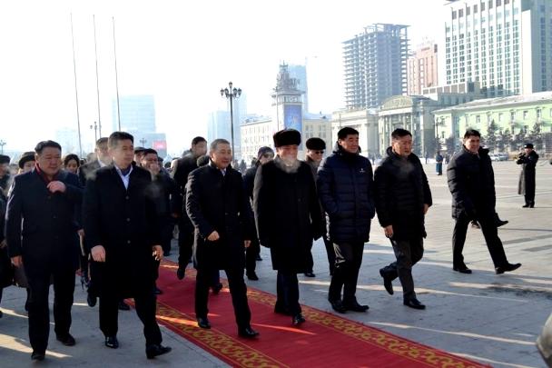 Монгол Улсын өнөөгийн ололт, амжилт Д.Сүхбаатартай салшгүй холбоотой