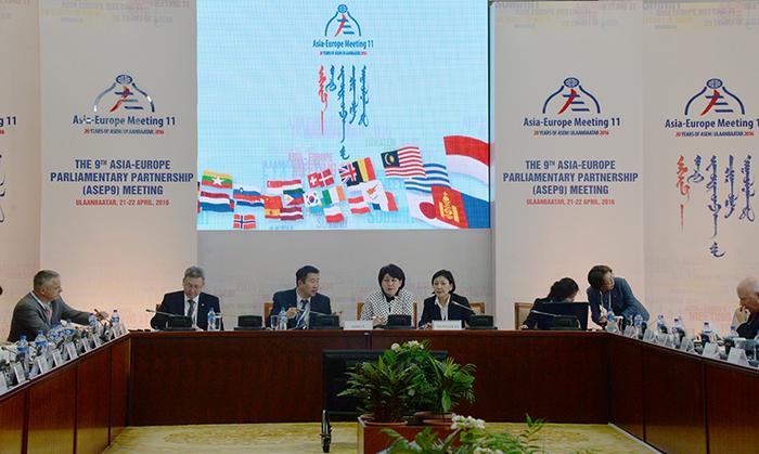 Ази-Европын парламентын түншлэлийн Төслийн хорооны хуралдаан боллоо