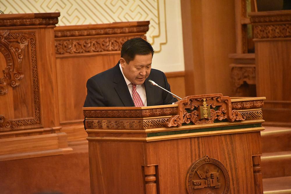Монголбанкны Тэргүүн дэд ерөнхийлөгчийг томиллоо