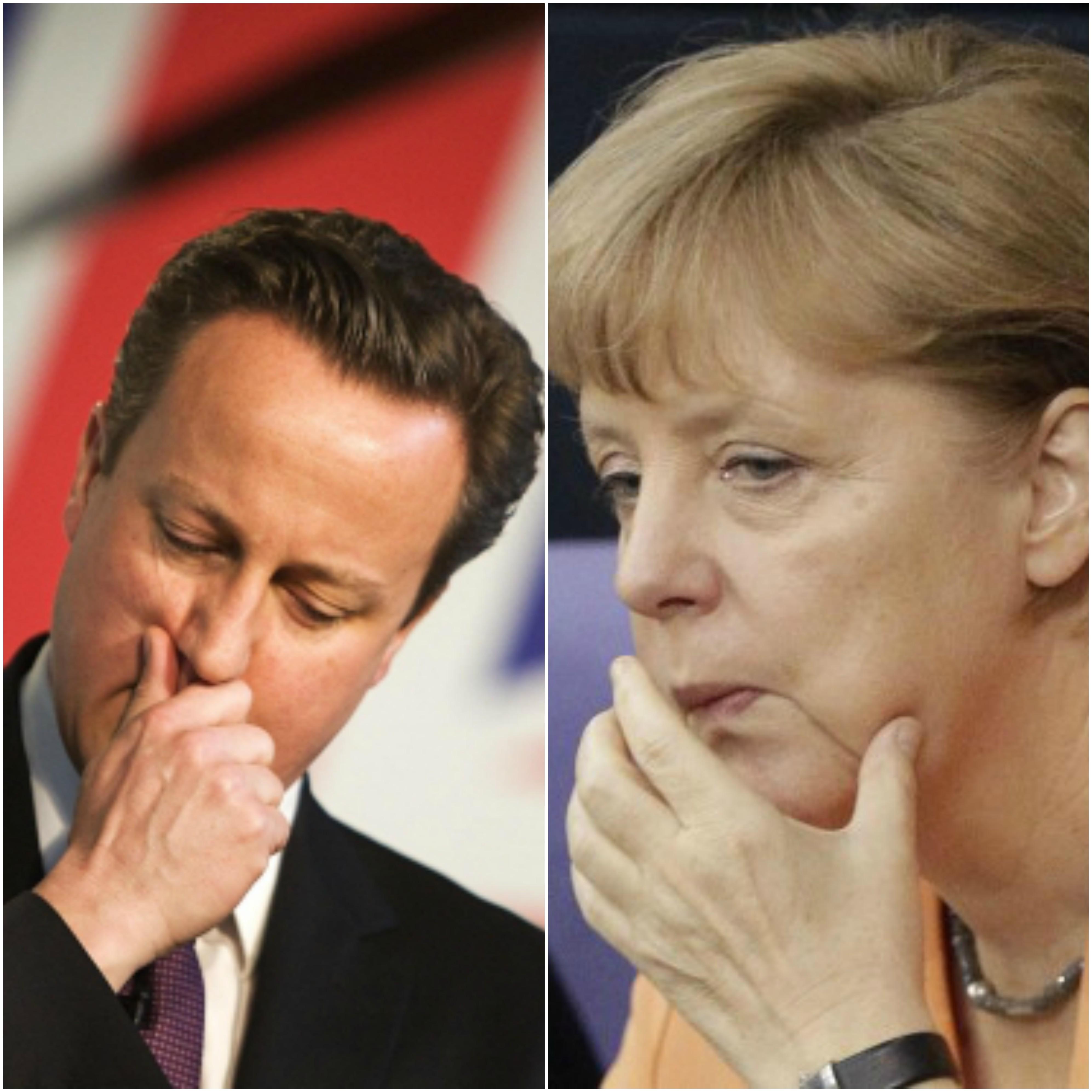 Камерон, Меркель нарын дараалсан алдаатай бодлогууд: Дээрээс хүчтэй унах нь