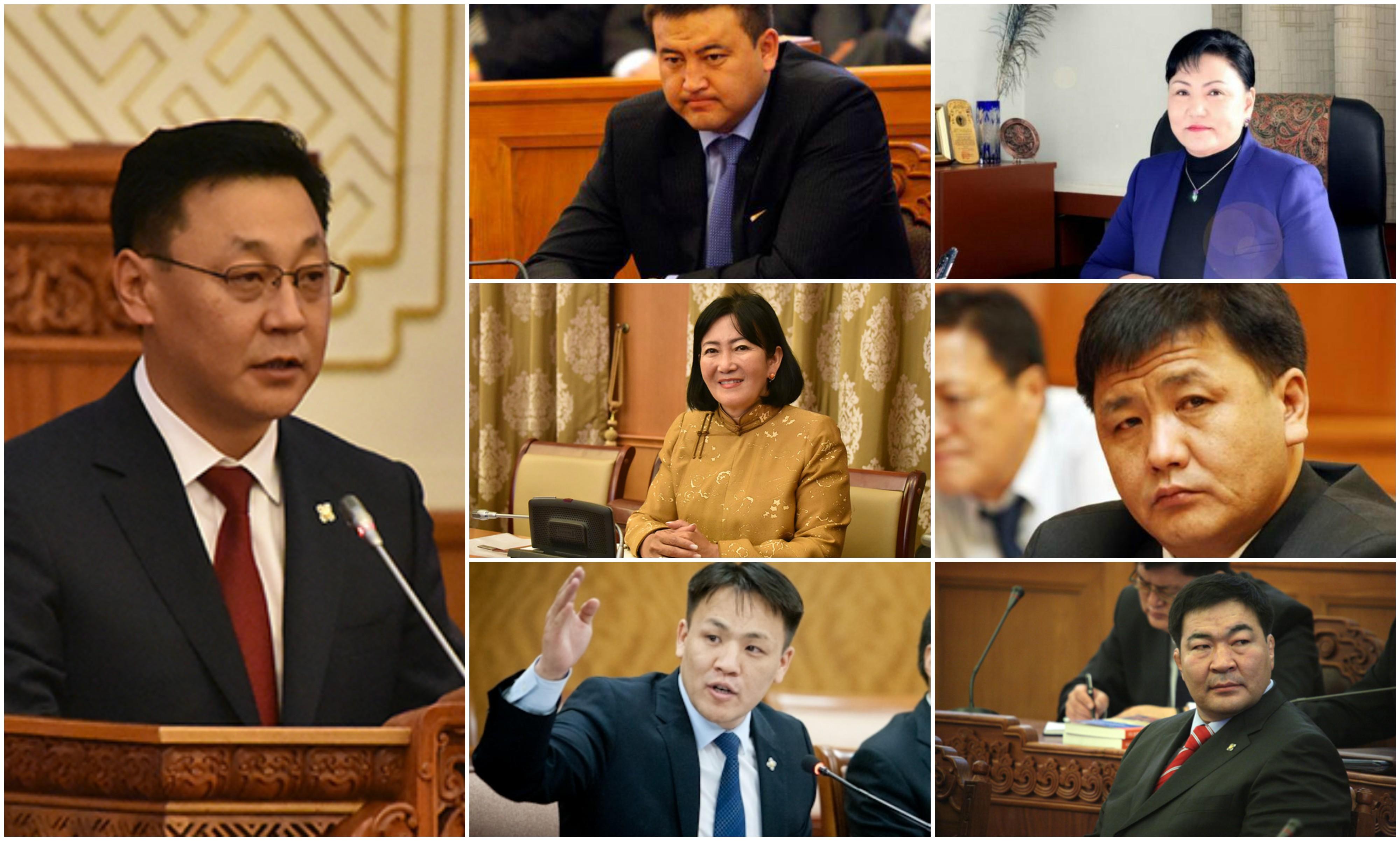 Засгийн газрын 16 сайдын 11-ийнх нь төсөв зарцуулах эрх нэмэгдэж, 5 нь төсвөө танууллаа