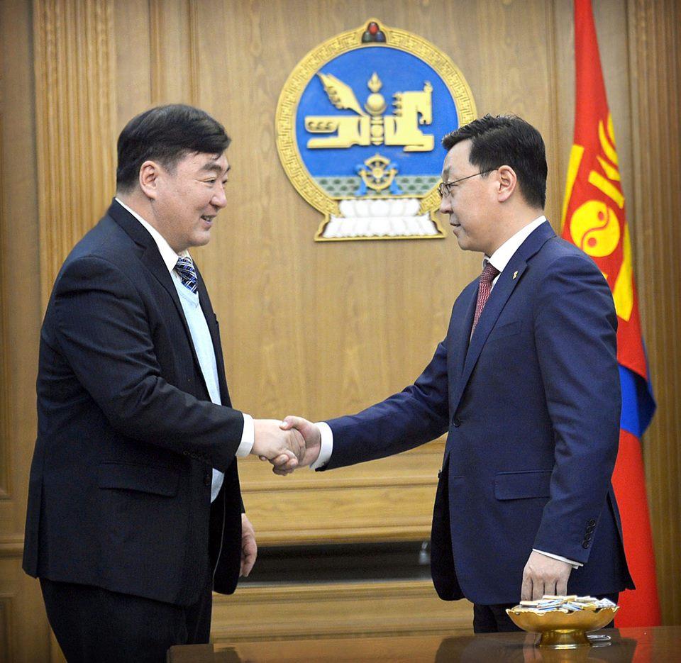 Монгол Улсын Ерөнхий сайд Ж.Эрдэнэбат БНХАУ-ын Элчин сайдыг хүлээн авч уулзлаа