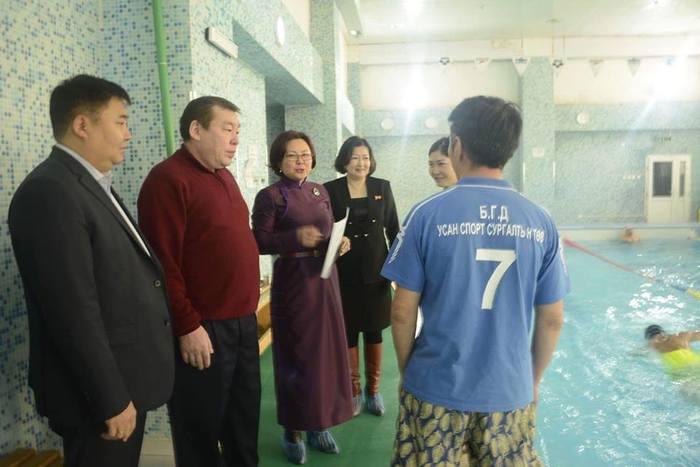 БГД-ийн усан спортын төвөөр 1112 хүүхэд үйлчлүүлжээ