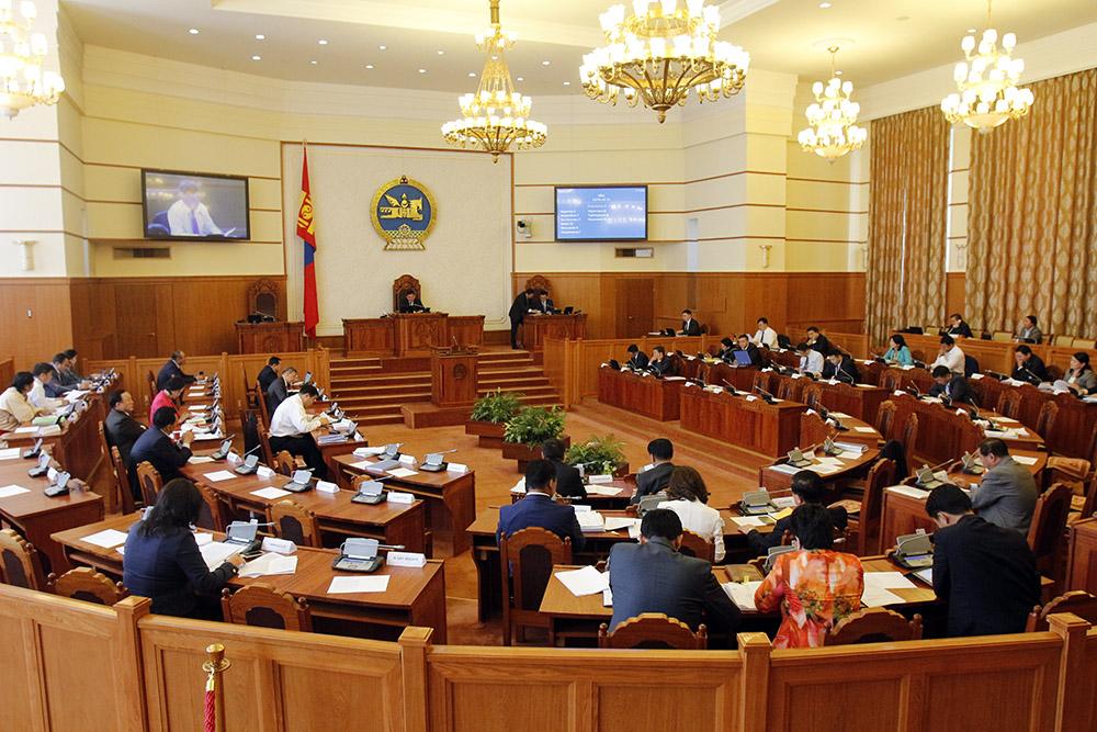 Монгол Улсын үндэсний аюулгүй байдал, эрдэнэсийн сангийн тухай асуудлыг  хаалттай хэлэлцэж байна