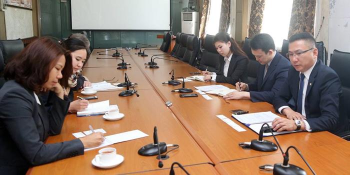 Дэлхийн банкны төлөөлөгчдийг хүлээн авч уулзлаа