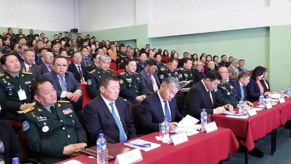 """""""Монгол Улсын аюулгүй байдлын орчин - Батлан хамгаалах бодлого"""" сэдэвт эрдэм шинжилгээний хурал болж байна"""