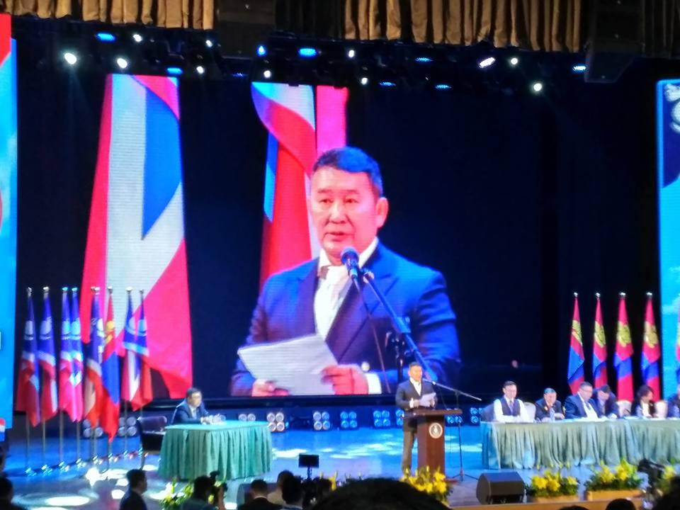 Х.Баттулга: Би ялвал Монгол ялна