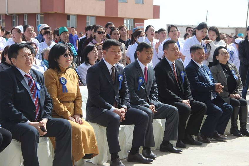 Хэнтий аймгийн Нэгдсэн эмнэлэгийн шинэ байр өнөөдөр нээлтээ хийлээ