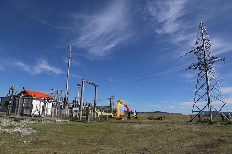 Хөвсгөл далайн баруун эргийн дагуу 40 км үргэлжилсэн цахилгаан дамжуулах шугам ашиглалтад оржээ