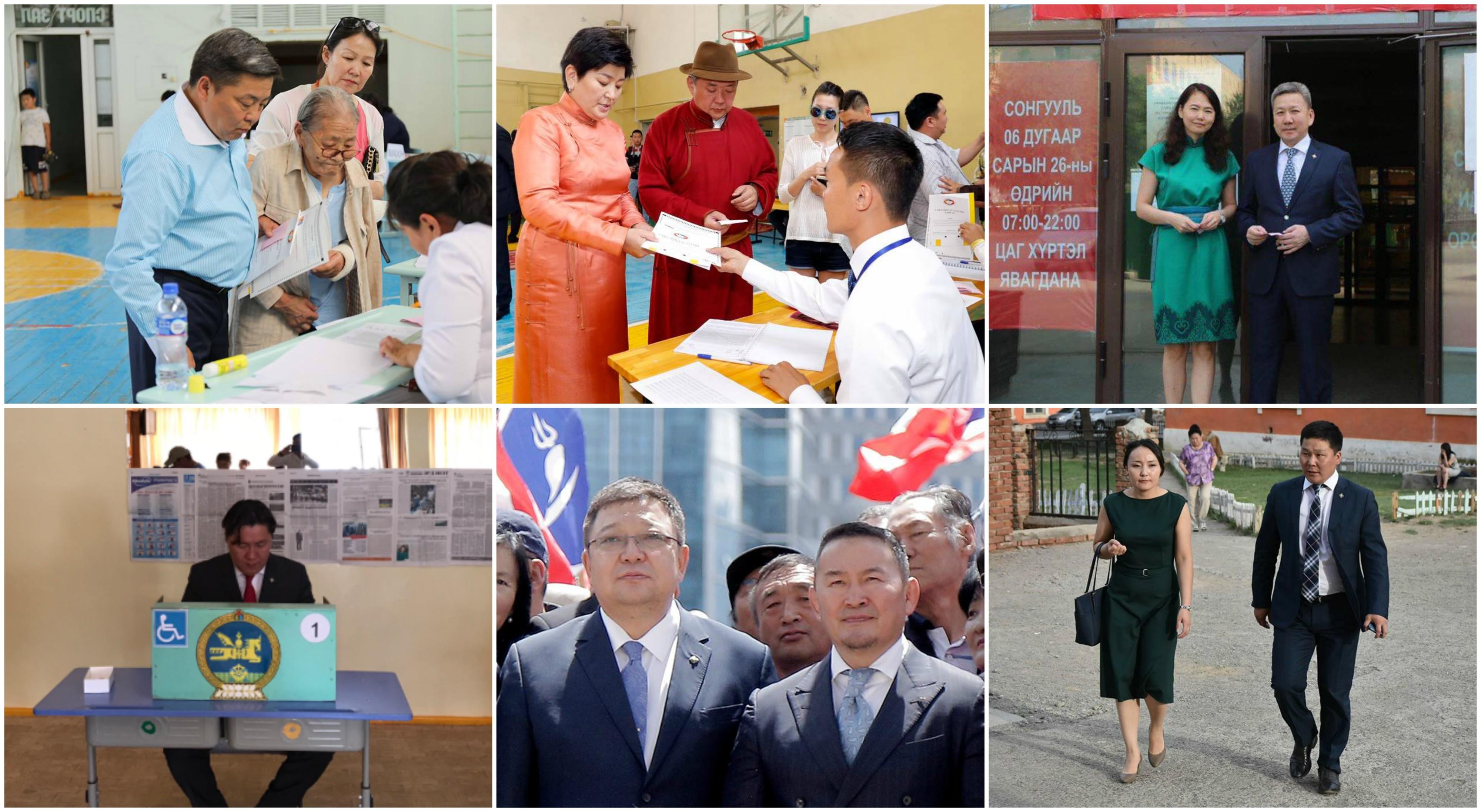 Монгол Улсын 5 дахь Ерөнхийлөгчийг сонгох өдөр гишүүд...