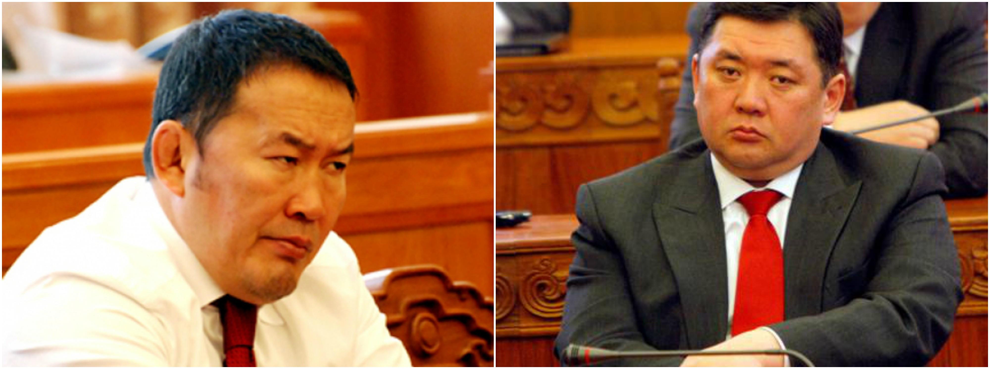 Жүдо бөхийн холбооны Ерөнхийлөгчөөс Монгол Улсын Ерөнхийлөгч болсон Х.Баттулга, төрийн гурван өндөрлөгийн нэг хэвээр үлдсэн М.Энхболд