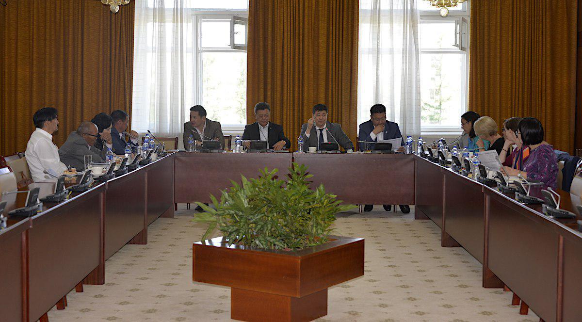 """""""Монгол Улсын Төлөөллийн байгууллагыг бэхжүүлэх нь"""" төслийн Удирдах зөвлөлийн хурал болов"""