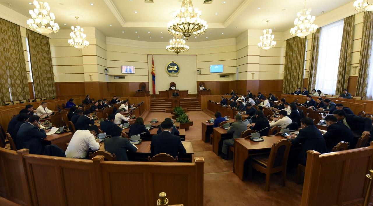 Засгийн газар огцорч, ээлжит бус чуулган хаалтаа хийв