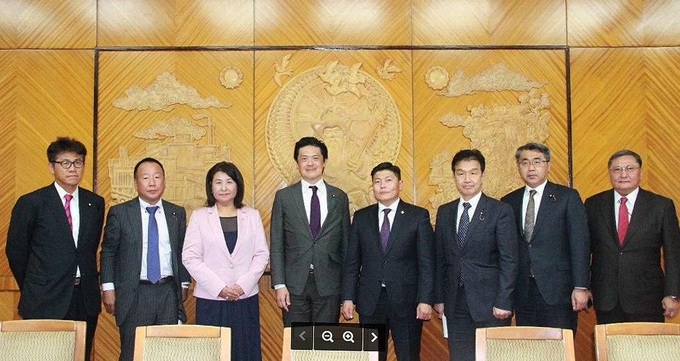 Япон Улсын парламентын төлөөлөгчдийг хүлээн авч уулзав