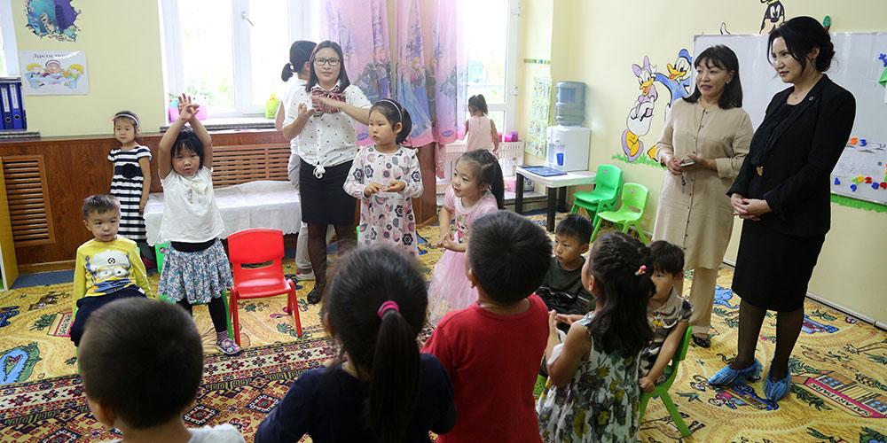 Байгууллагын дэргэдэх цэцэрлэгт 1000 орчим хүүхэд суралцаж байна