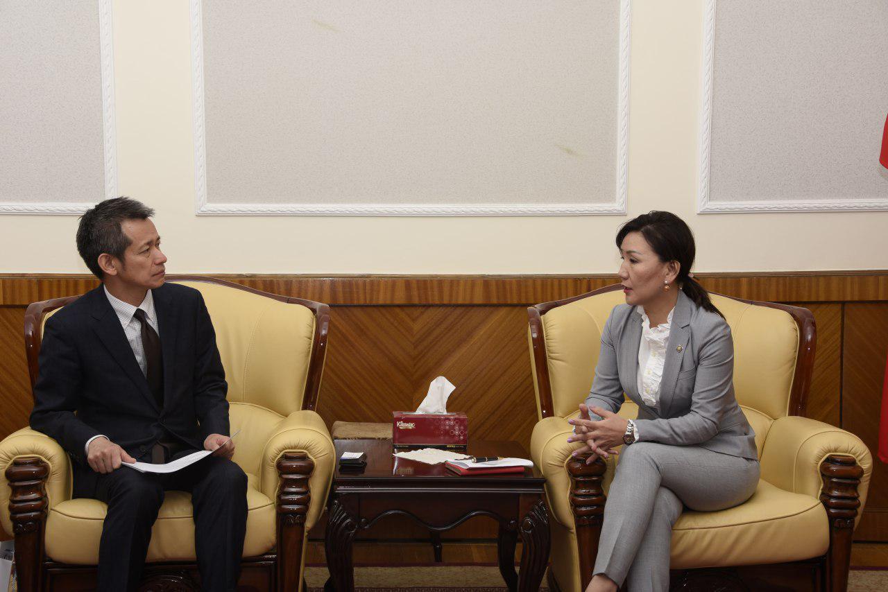 Жайка-гийн Монгол дахь Төлөөлөгчийн газрын дарга Сато Мүцүмиг хүлээн авч уулзлаа