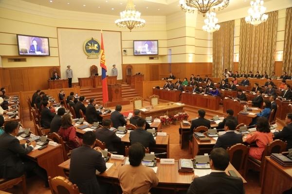 Монгол Улсын 30 дахь Ерөхий сайдыг томилох асуудлыг хэлэлцэж байна