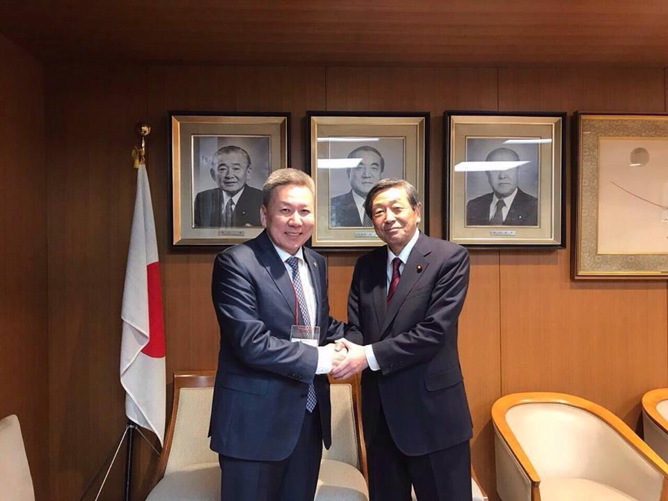 Монгол-Японы парламентын бүлгийн дэд дарга Л.Болд Япон улсад ажиллав.