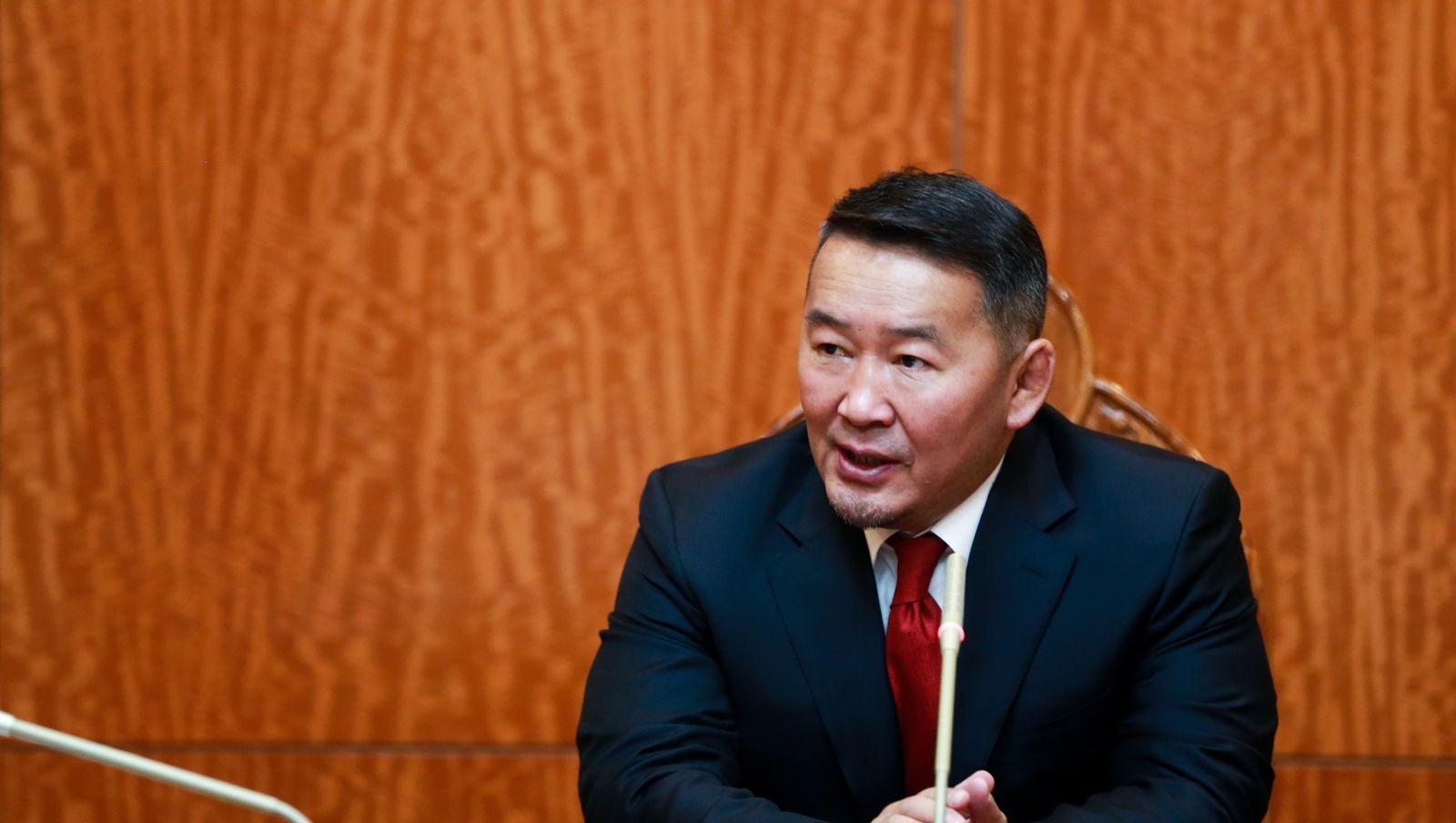 Ерөнхийлөгч 2018 оны улсын төсөвт хэсэгчлэн хориг тавилаа