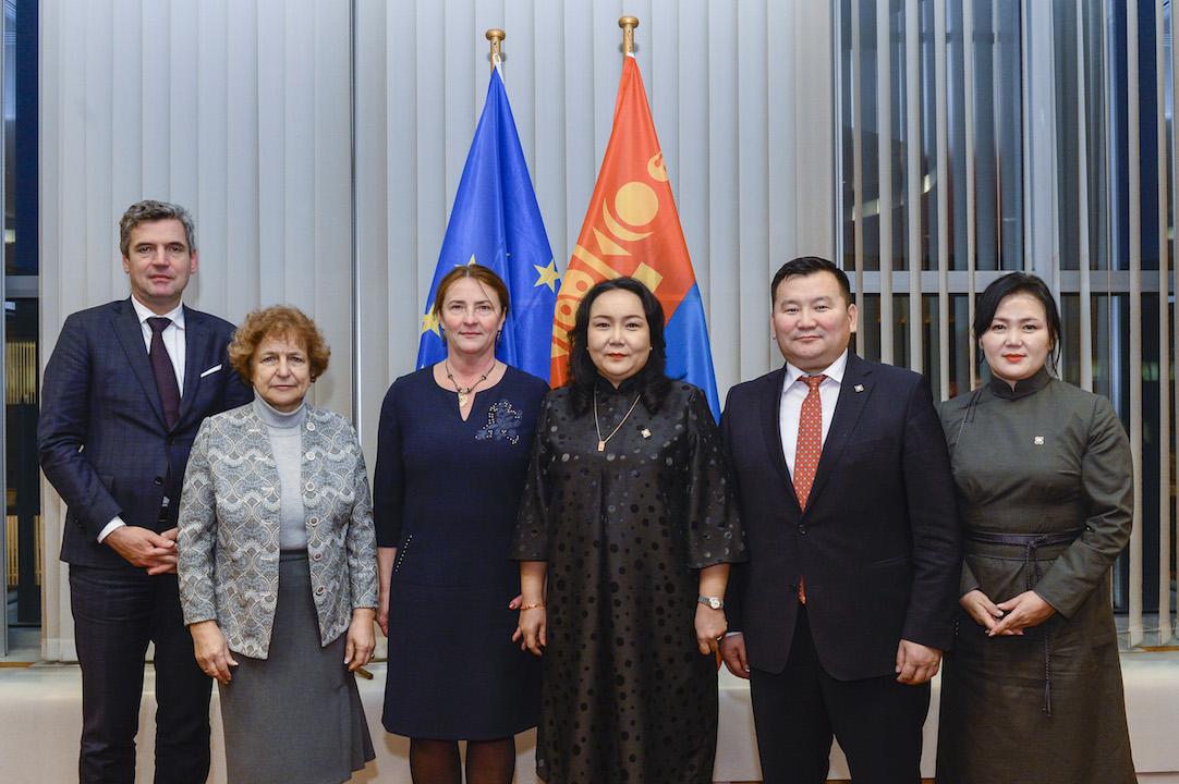 Улсын Их Хурал, Европын парламент хоорондын 11 дүгээр зөвлөлдөх уулзалтад оролцов