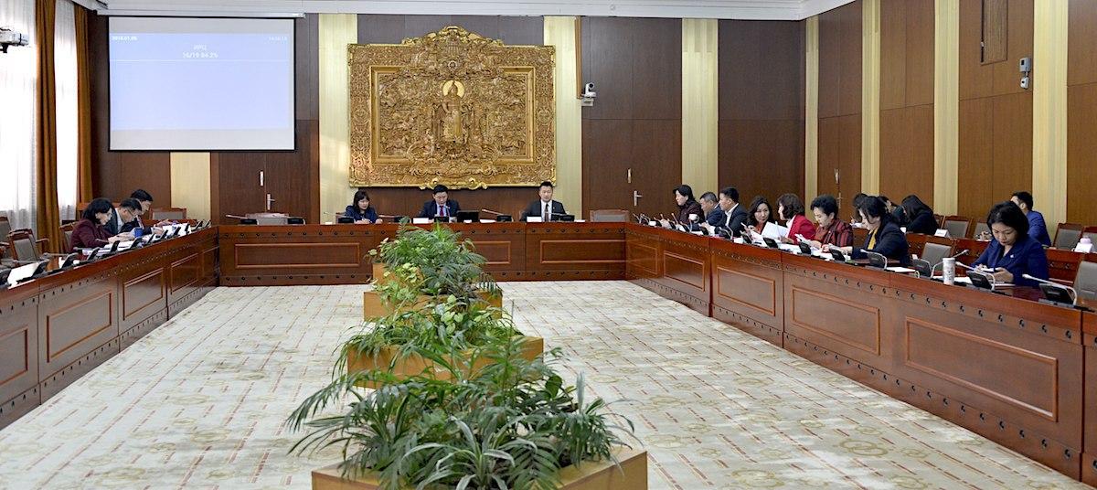 Нэмэгдлийн хэмжээ тогтоох тухай Улсын Их Хурлын тогтоолын төслийг хэлэлцлээ