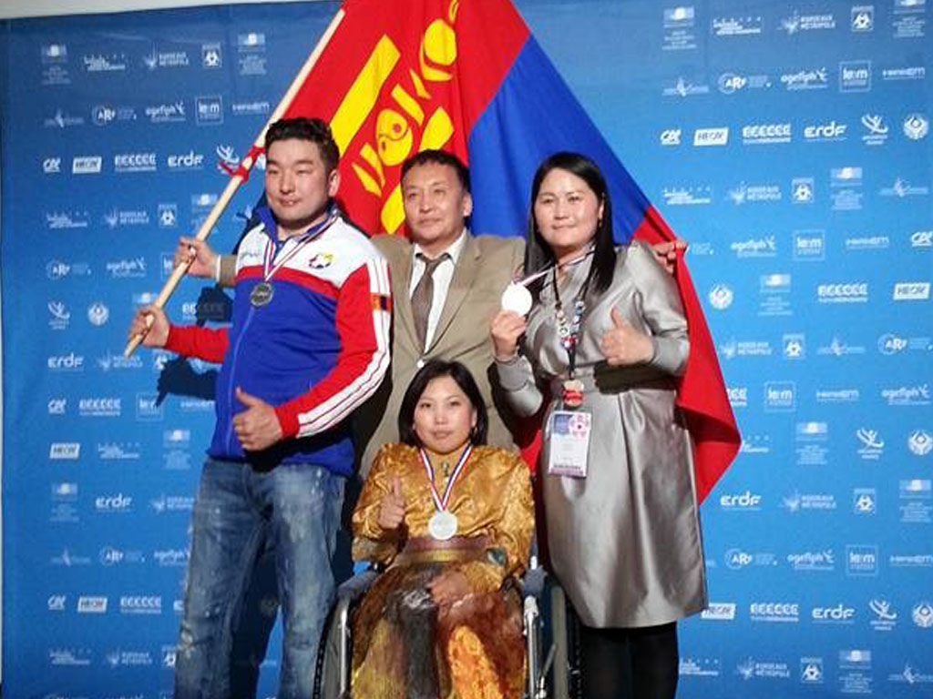 Олон улсын тэмцээнд амжилттай оролцсон хөгжлийн бэрхшээлтэй иргэн урамшуулал авна