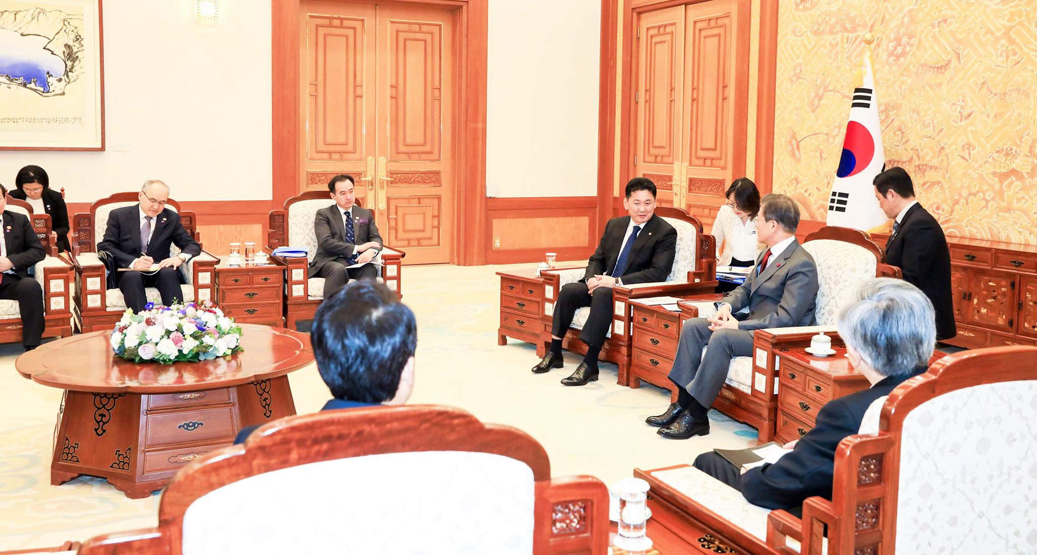 Монгол улсын ерөнхий сайд У.Хүрэлсүх БНСУ-д хийсэн айлчлалын дүнгийн талаар мэдээлэл өгөв