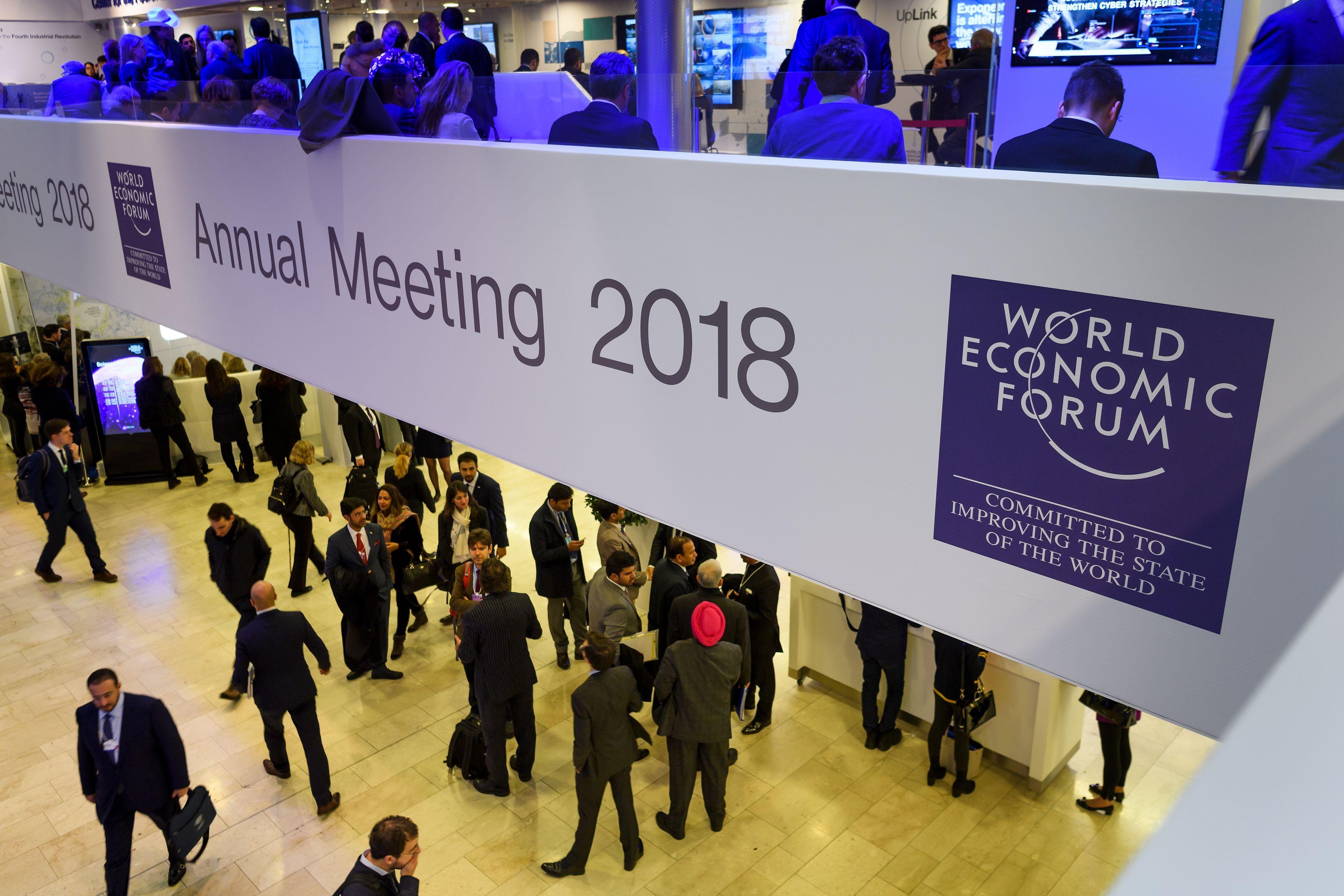 Дэлхийн эдийн засгийн чуулга уулзалтад сайд Д.Сумъяабазар, Д.Цогтбаатар нар оролцож байна