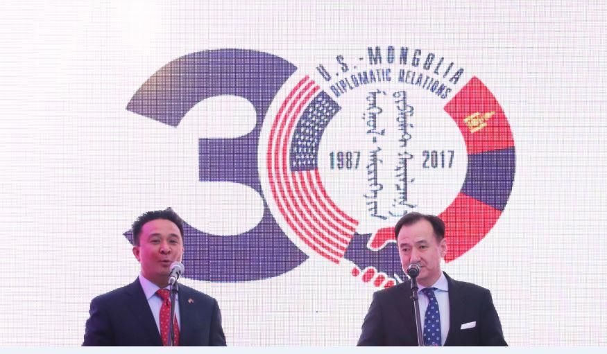 Монгол улс, АНУ-ын хооронд дипломат харилцаа тогтоосны 30 жилийн ойн хаалтын арга хэмжээ болов