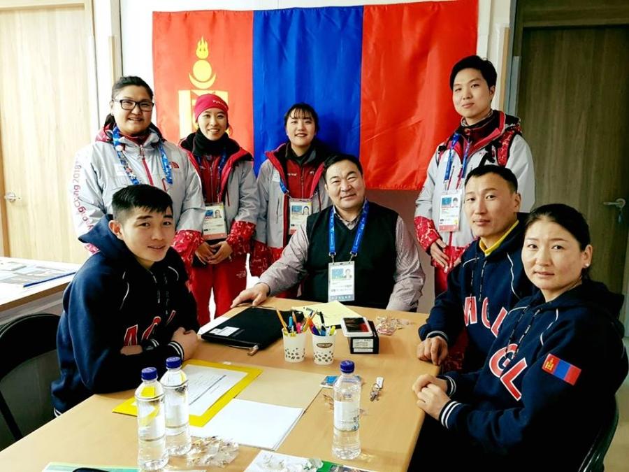 Манай баг тамирчид олимпын тосгонд байрлав
