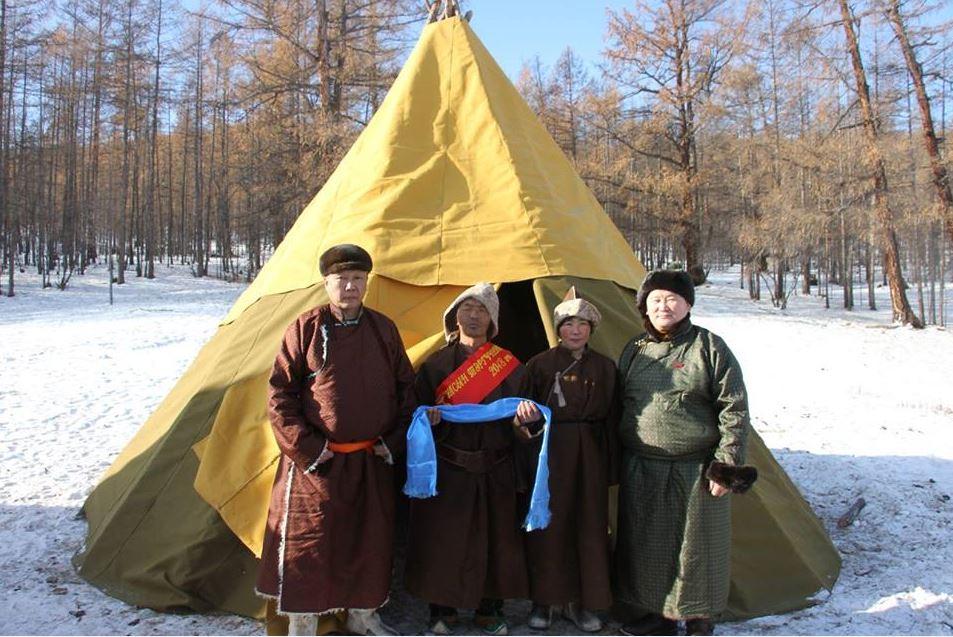 """Анхны """"Улсын тэргүүний цаачин"""" цолыг Хөвсгөл аймгийн Цагааннуур сумын Ч.Батбаярт хүртлээ"""