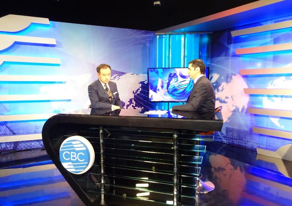 Гадаад харилцааны сайд Азербайжаны свс телевизэд ярилцлага өглөө