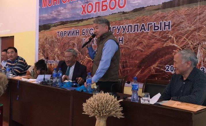 Монголын тариаланчид нэгдэж, Ж.Энхбаярыг ерөнхийлөгчөөрөө сонголоо