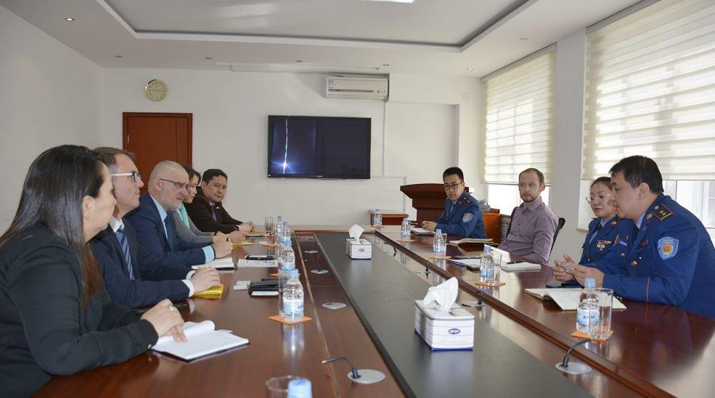 Австралийн ЭСЯ-ны I нарийн бичгийн дарга Шейн МкКенна тэргүүтэй төлөөлөгчдийг хүлээн авч уулзлаа