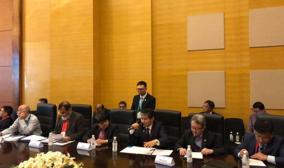 Газар хөдлөлтийн гамшгаас урьдчилан сэргийлэх хэлэлцээрт Монгол Улс нэгдэв